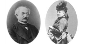 Francois-et-Marie-Blanc (back and white cameos)